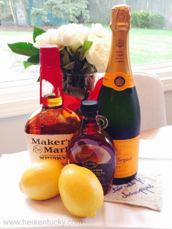 Maker's Mark Maple Bourbon Sparkler | Kentucky Bourbon Whisky | Herkentucky.com