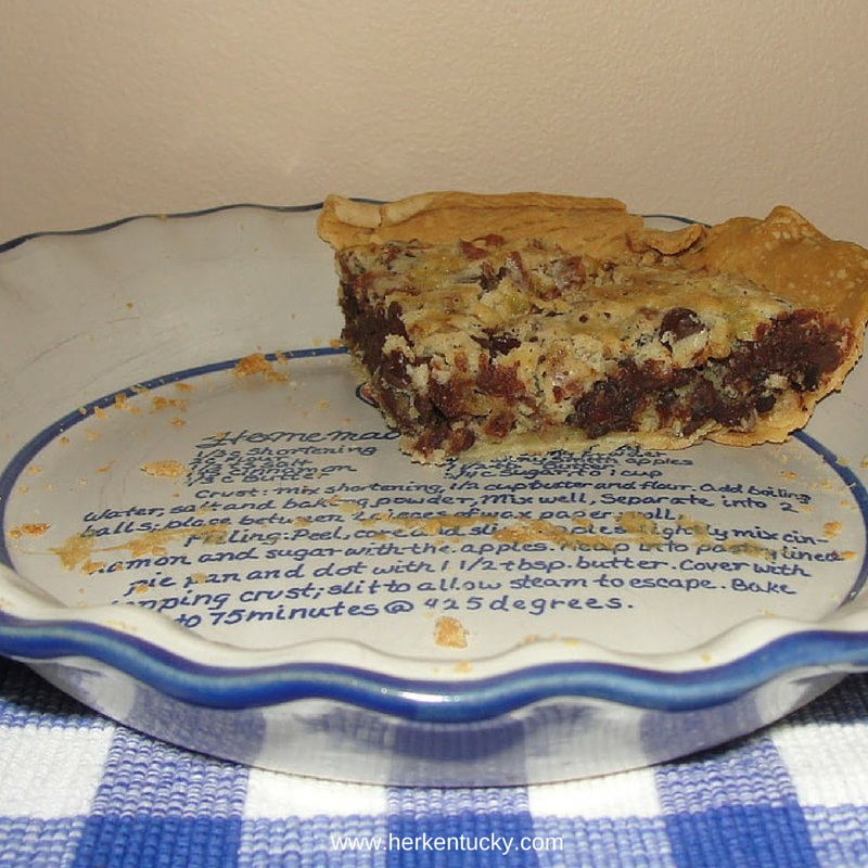 Derby Pie | Chocolate Pecan Bourbon Pie | Maker's Mark Bourbon | HerKentucky.com