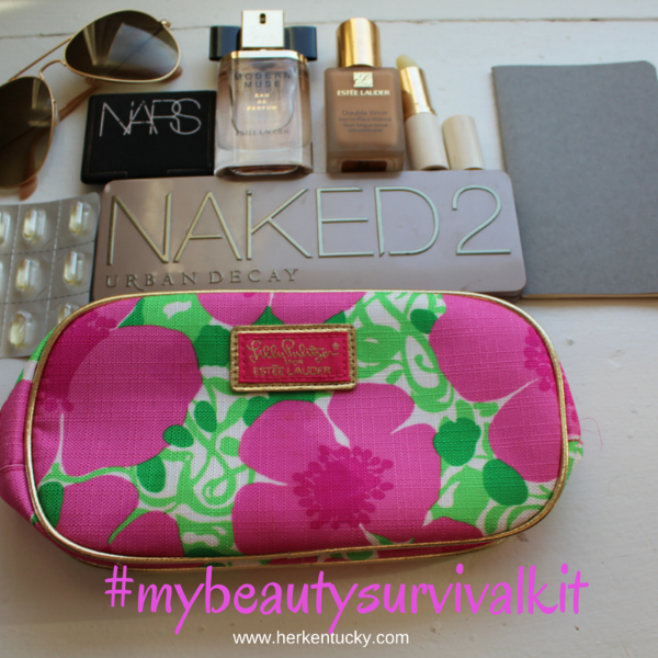 Macy's Beauty Survival Kit | Estee Lauder Nars Urban Decay Ray-Ban | Kentucky Beauty Blogger | HerKentucky.com