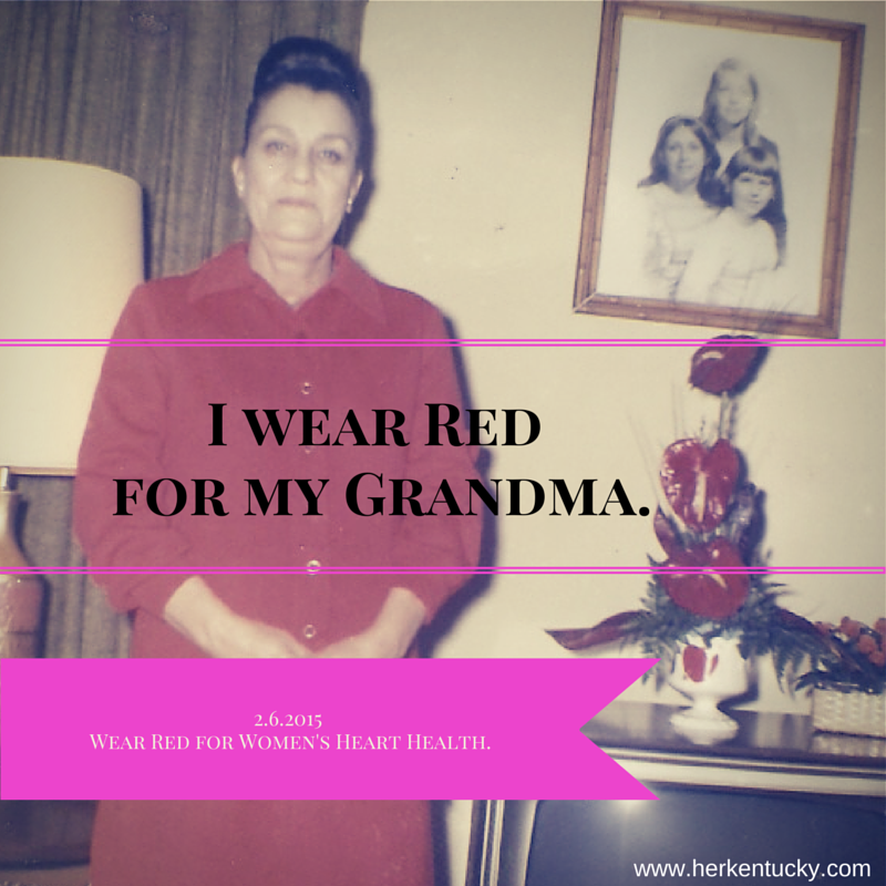I wear Red | Go Red for Women Day | HerKentucky.com