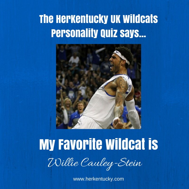 My Favorite UK Wildcat is Willie Cauley-Stein! HerKentucky.com