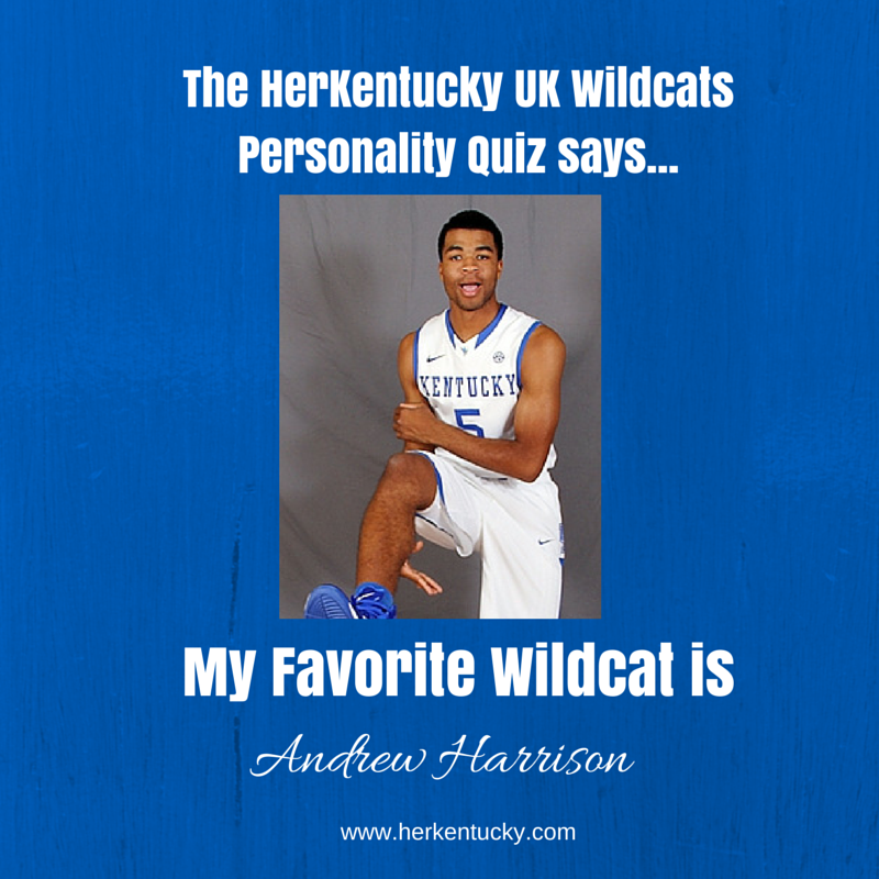 My Favorite UK Wildcat is Andrew Harrison! HerKentucky.com