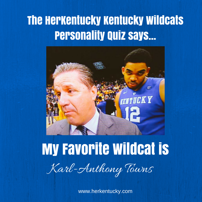 My Favorite UK Wildcat is Karl-Anthony Towns! Herkentucky.com