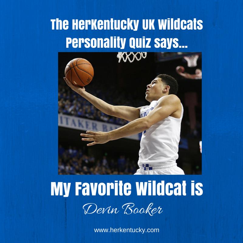 My favorite UK Wildcat is Devin Booker! HerKentucky.com