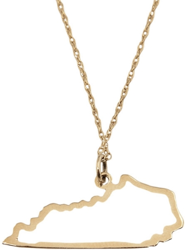 Maya Brenner Kentucky Necklace | HerKentucky.com