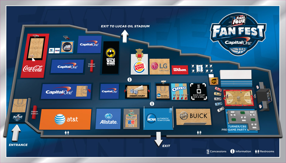 Final Four Fan Fest | NCAA Tournament 2015 | HerKentucky.com