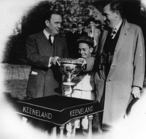 1941 Blue Grass Stakes. (Image via Keeneland.)