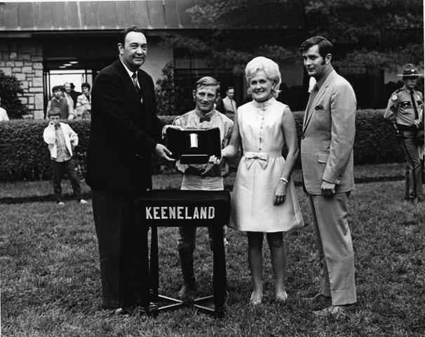 1970 Blue Grass Stakes (image via Keeneland)