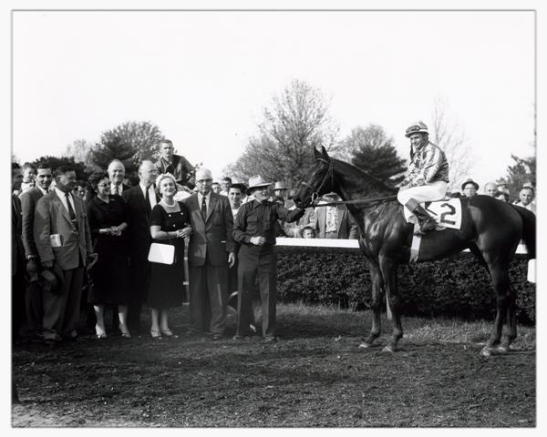 1957 Blue Grass Stakes (image via Keeneland)