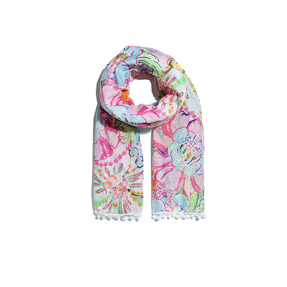 Lilly Pulitzer for Target Scarf | Louisville KY Fashion Blogger | HerKentucky.com