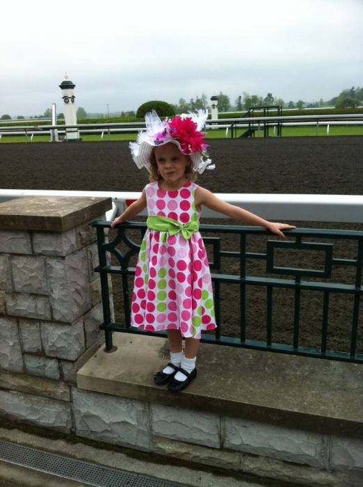 Sam C. at Keeneland's Derby Party