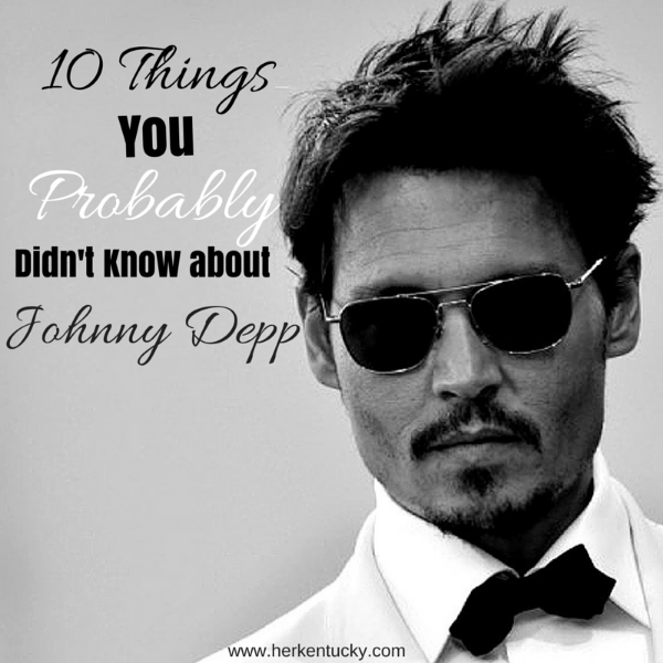 10 Things You Probably Didn't Know about Johnny Depp | HerKentucky.com