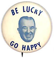 Happy Chandler campaign button
