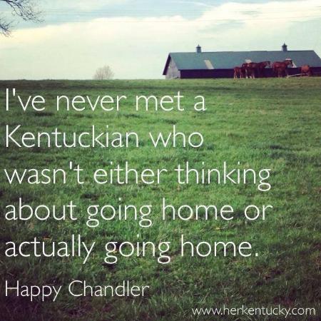Happy Chandler | Kentucky quotation | HerKentucky.com