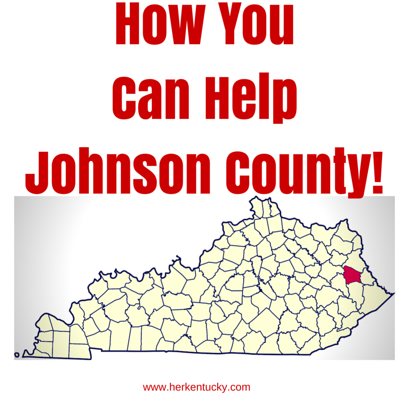 How to Help Johnson County KY
