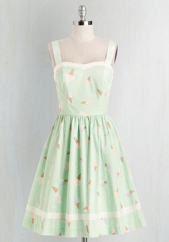 Mod Cloth Ice Cream Dress