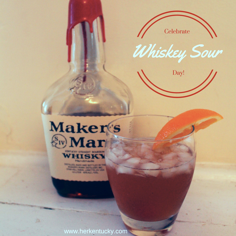 Maker's Mark Whiskey Sour | HerKentucky.com