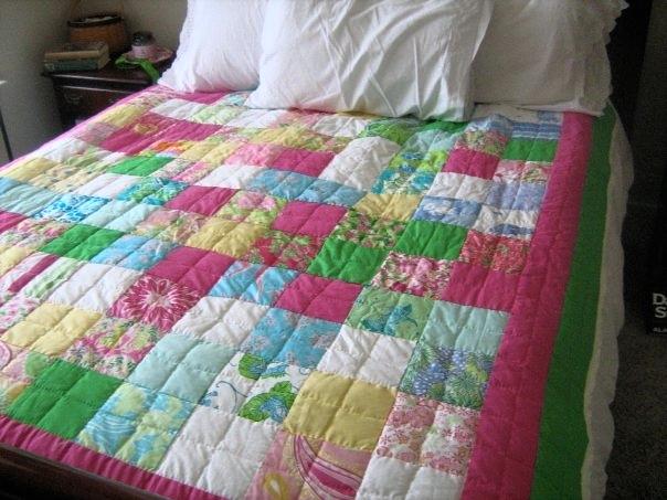 Lilly Pulitzer Patchwork Quilt — HerKentucky : lilly pulitzer quilts - Adamdwight.com