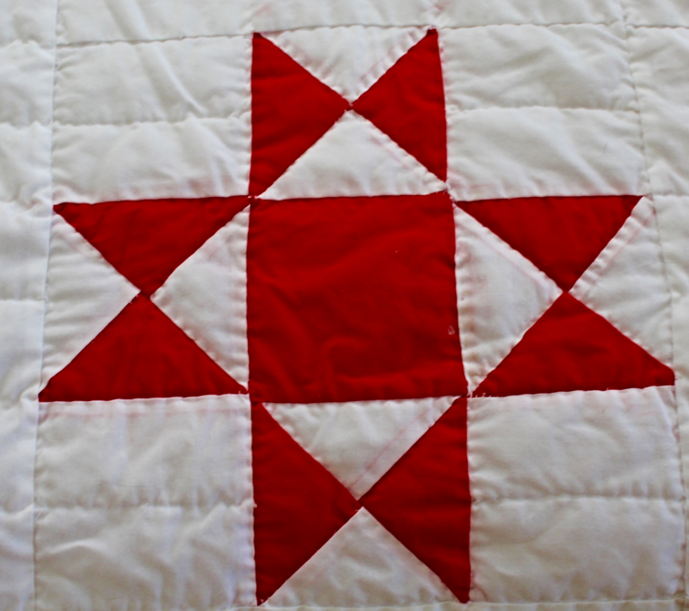 Red And White Ohio Star Quilt Kentucky Life Style