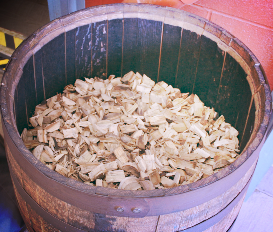 Wood Chips at Jim Beam