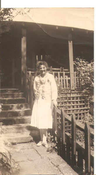 My great-grandmother, Rilda Slone Watson, in an ALC uniform.