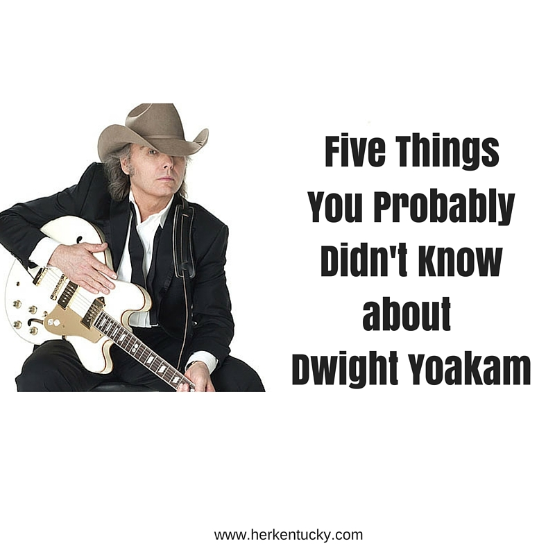 062b29211 Five Things You Probably Don't Know About Dwight Yoakam — Kentucky ...