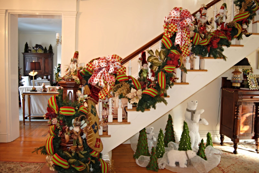 Whimsical Christmas Decorations by Polka Dots & Rosebuds Interiors