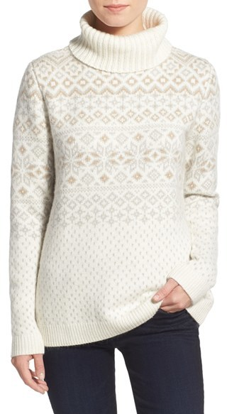 Snowflake sweater via Vineyard Vines