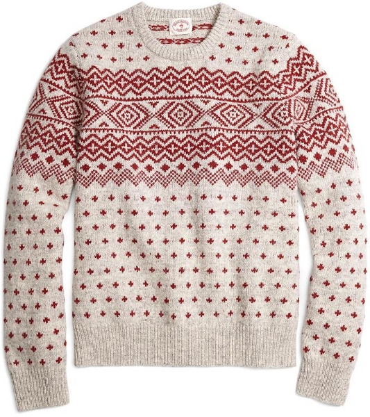 Brooks Brothers Fair Isle