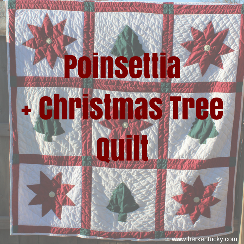 Christmas Tree Quilt | HerKentucky.com