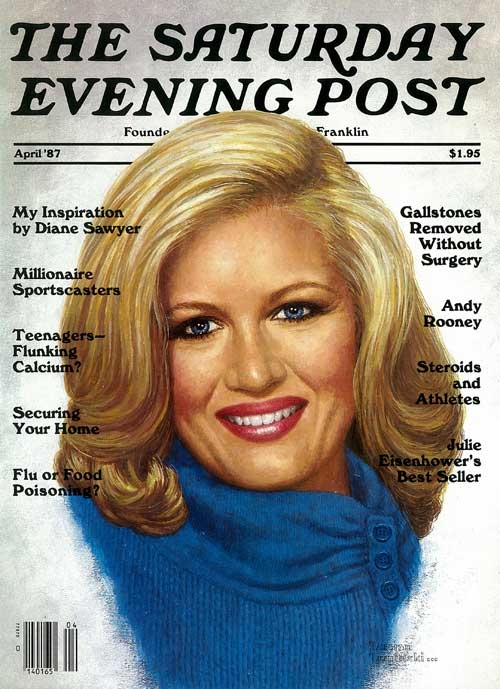 Diane Sawyer Saturday Evening Post