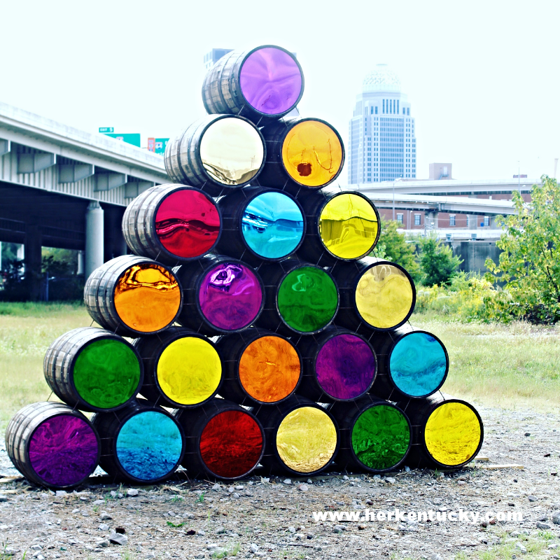 Louisville Whiskey Barrel Public Art