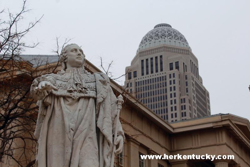 King Louis XVI Statue, Louisville KY