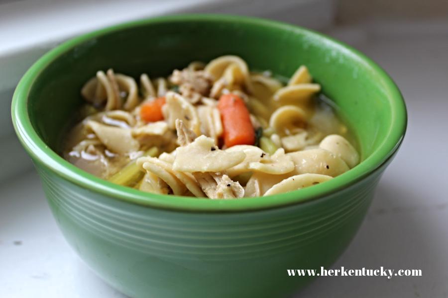 HerKentucky.com Chicken Noodle Soup