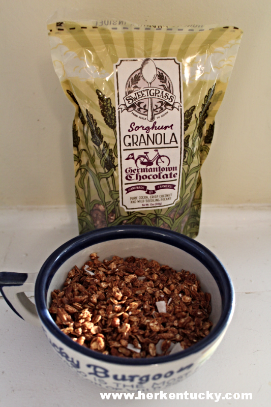 Germantown Chocolate Sweetgrass Granola