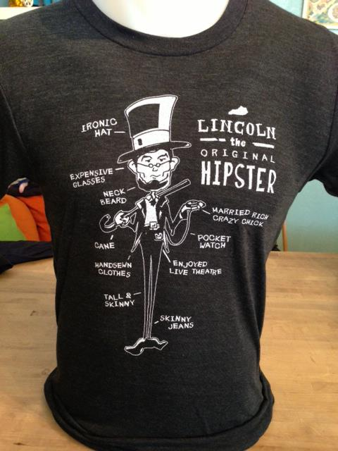Lincoln the original hipster