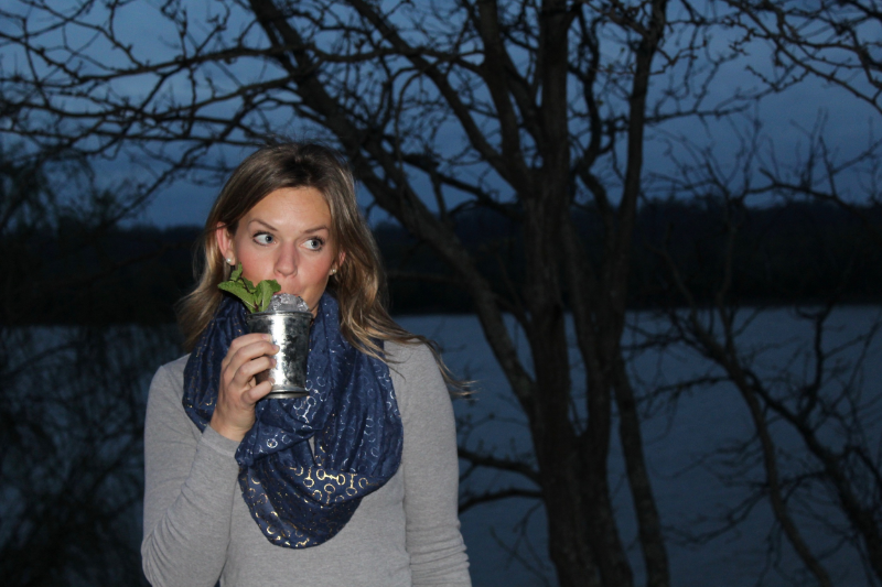 Elizabeth O'Neill of Woodford Reserve and I recently chatted over Mint Juleps.