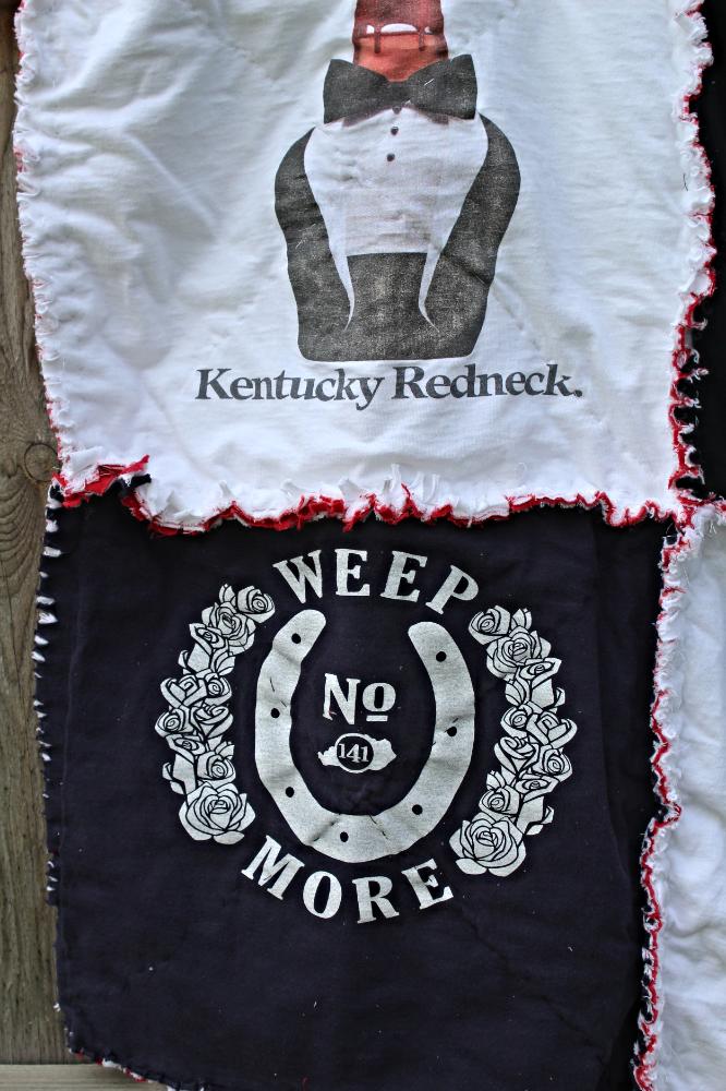 How To Make A T Shirt Rag Quilt Herkentucky