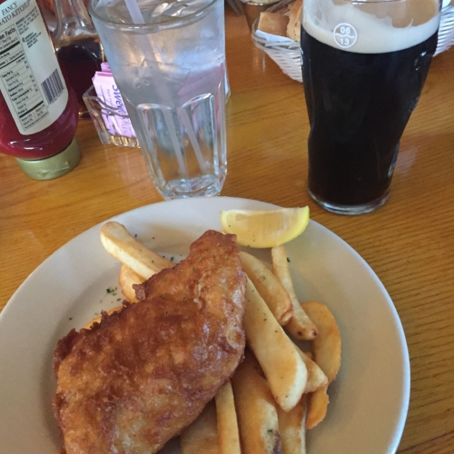 Fish and Chips at Irish Rover