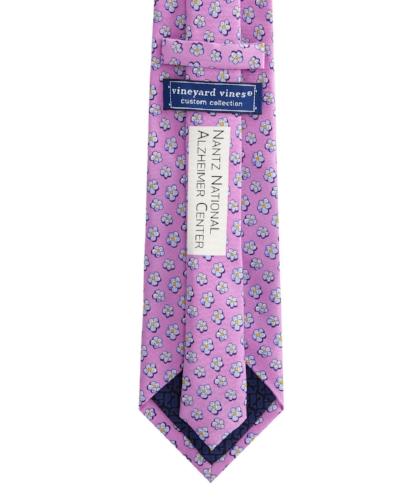 Vineyard Vines Jim Nantz Forget-Me-Knot Tie