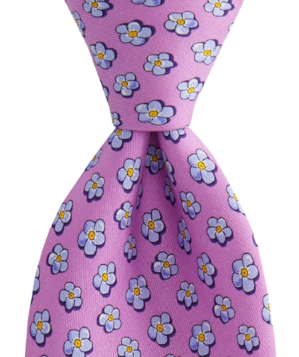 Jim Nantz Forget-Me-Knot Tie Vineyard Vines