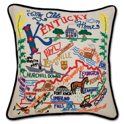 Cat Studio Kentucky Pillow