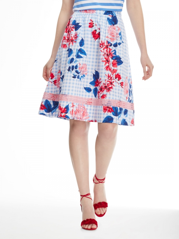Draper James Garden Party Floral Skirt