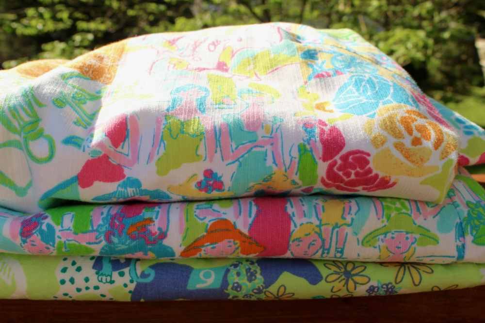 Lilly's famous Derby-themed prints