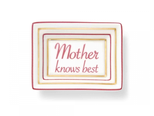 Draper James Mother Knows Best Trinket Tray