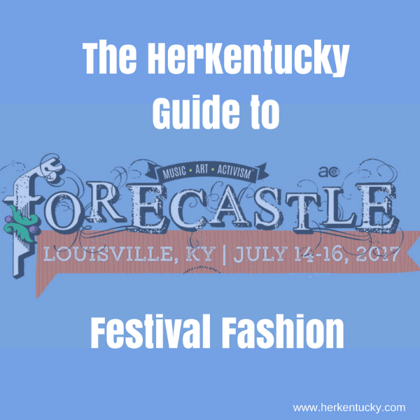 Festival Fashion | Forecastle Festival | Kentucky Style Blogger