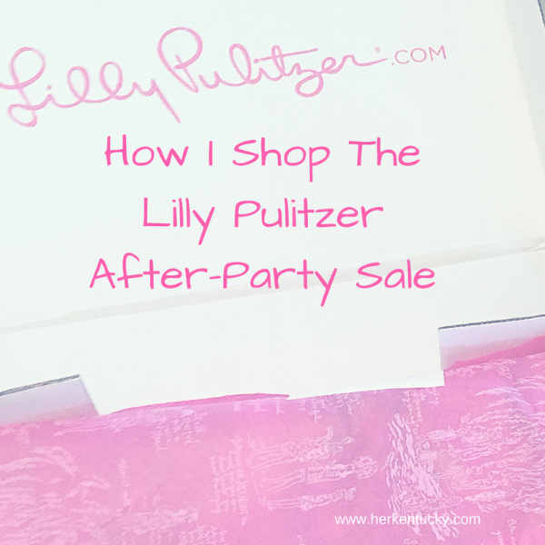 HerKentucky Lilly Pulitzer Sale Tips