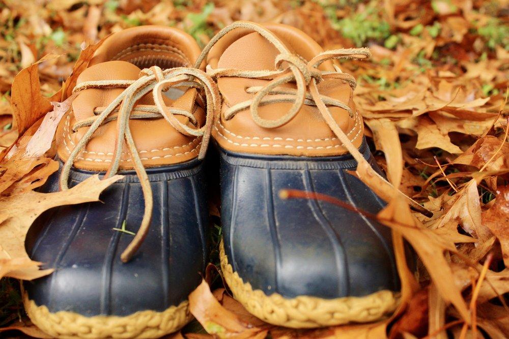 L.L. Bean Boots Rubber Mocs