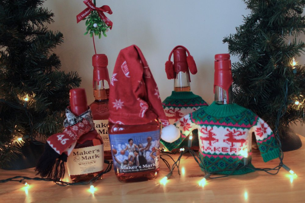 Maker's Mark Holiday Sweater