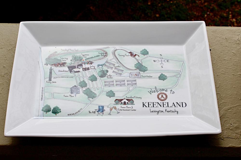 Dishique Keeneland Platter
